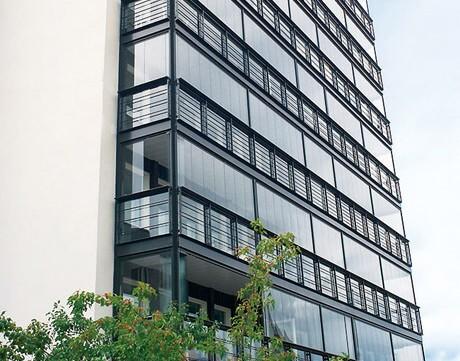 GLAZED BALCONIES - Europe\'s biggest name in balconies   BALCO