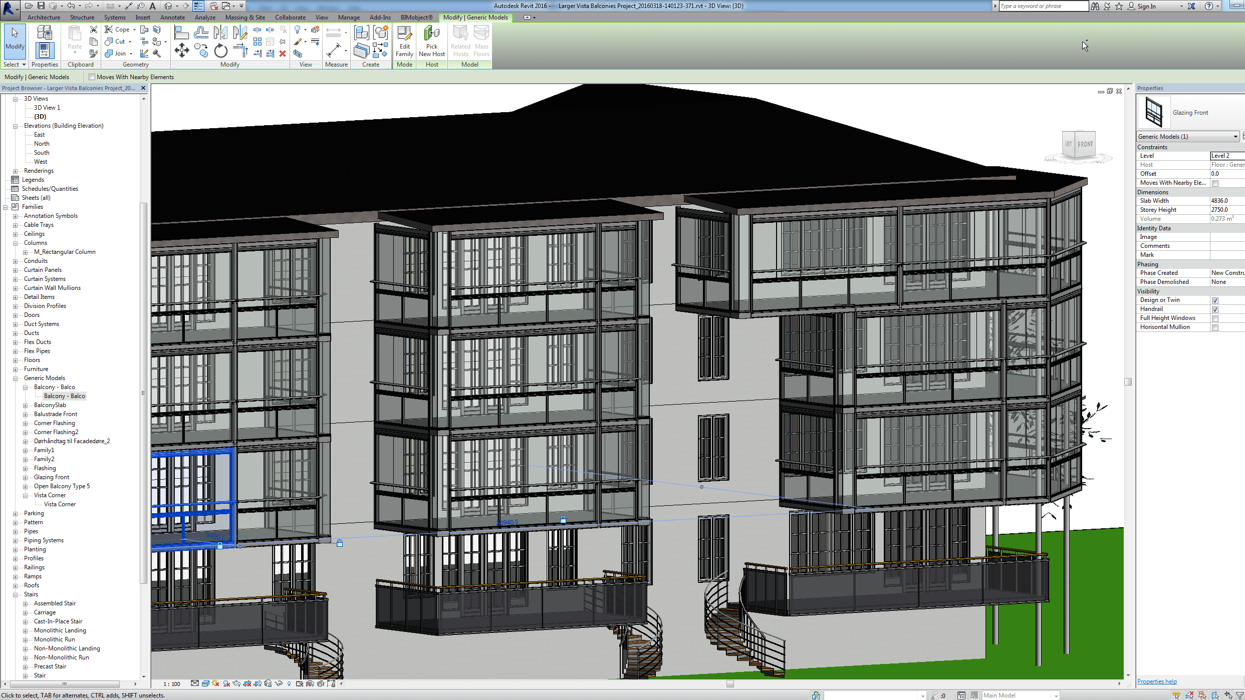 BALCONIES - SMARTER AND MORE USEFUL WITH BIM! - Europe's